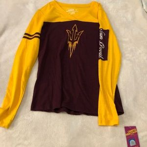 Arizona State long sleeve top